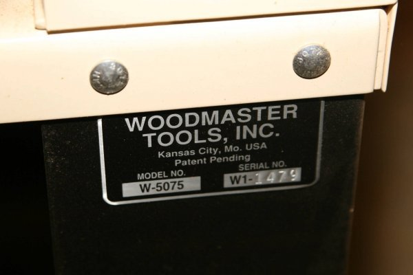 3647: PROFESSIONAL WOODMASTER TOOLS HEAVIEST DUTY DRUM  - 7