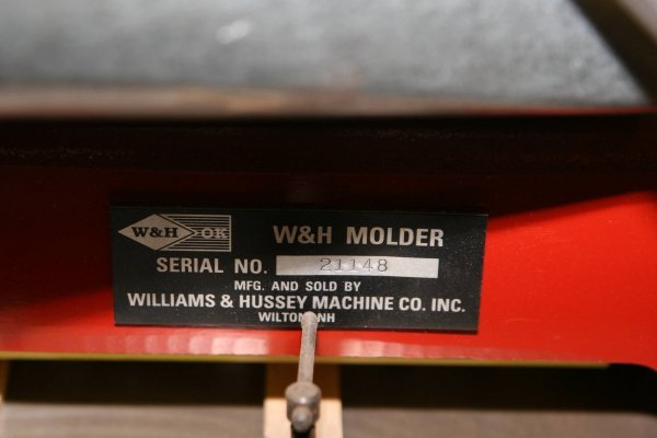 3656: WILLIAMS & HUSSEY W&H ORIGINAL STYLE MOLDER - 5