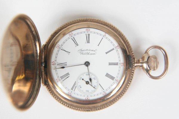 2375: ANTIQUE AMERICAN WALTHAM LADIES 1891 POCKET WATCH - 3