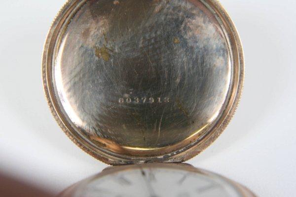 2375: ANTIQUE AMERICAN WALTHAM LADIES 1891 POCKET WATCH - 4