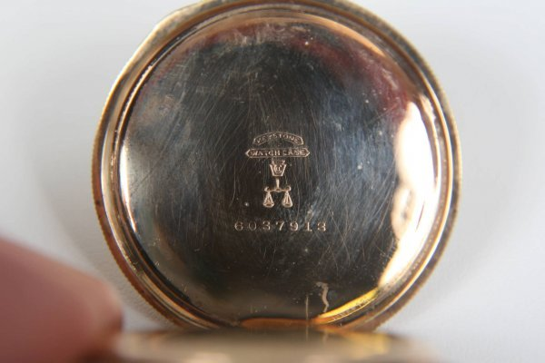 2375: ANTIQUE AMERICAN WALTHAM LADIES 1891 POCKET WATCH - 6