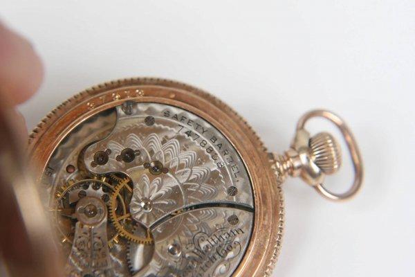 2375: ANTIQUE AMERICAN WALTHAM LADIES 1891 POCKET WATCH - 7