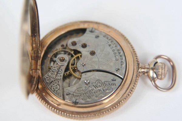 2375: ANTIQUE AMERICAN WALTHAM LADIES 1891 POCKET WATCH - 8