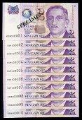 Singapore 10x$2 1999 HTT