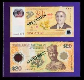 Singapore/Brunei $20 2007