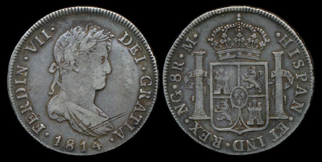 Guatemala Ferdinand VII 8 Reales 1814NG M