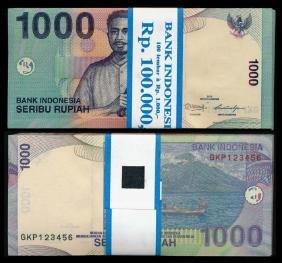 Indonesia 100x1000 Rupiah 2000-13