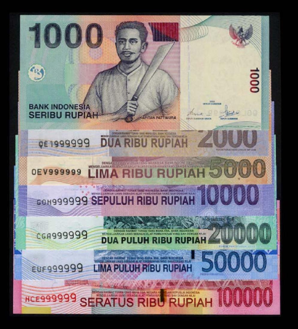 Indonesia 1000-100000 Rupiah 2000-16  999999