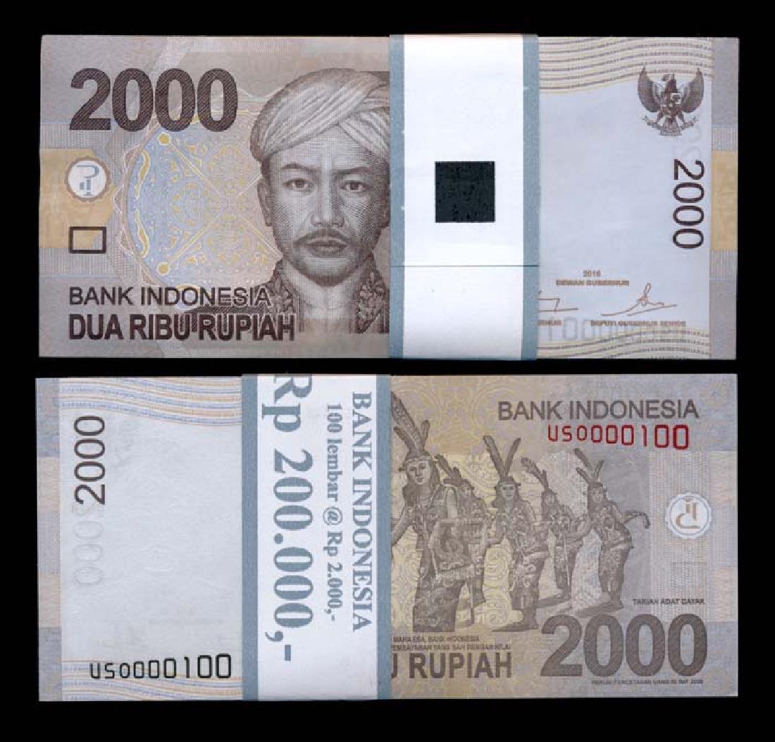 Indonesia 100x2000 Rupiah 2009-12