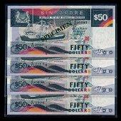 Singapore 25x$50 1997 ship