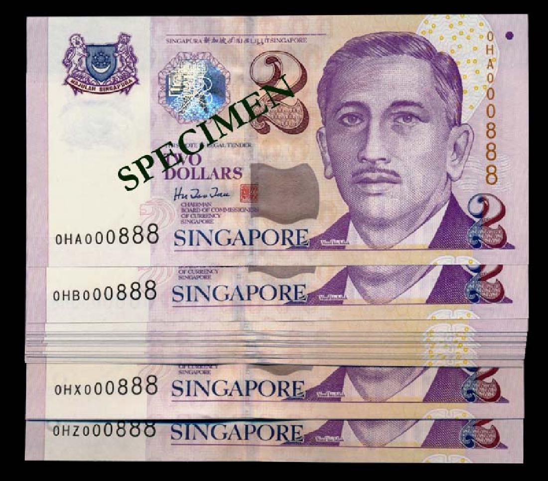 Singapore 24x$2 1999 HTT 0HA-0HZ 000888