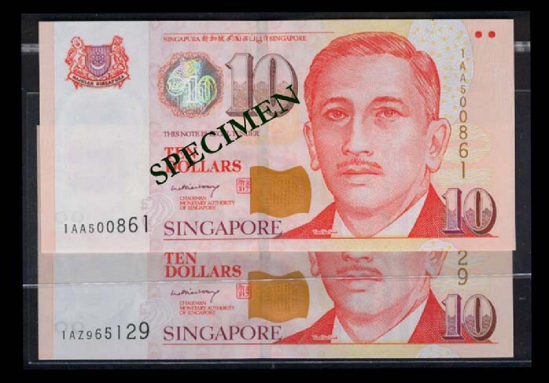 Singapore 14x$10 2005 LHL