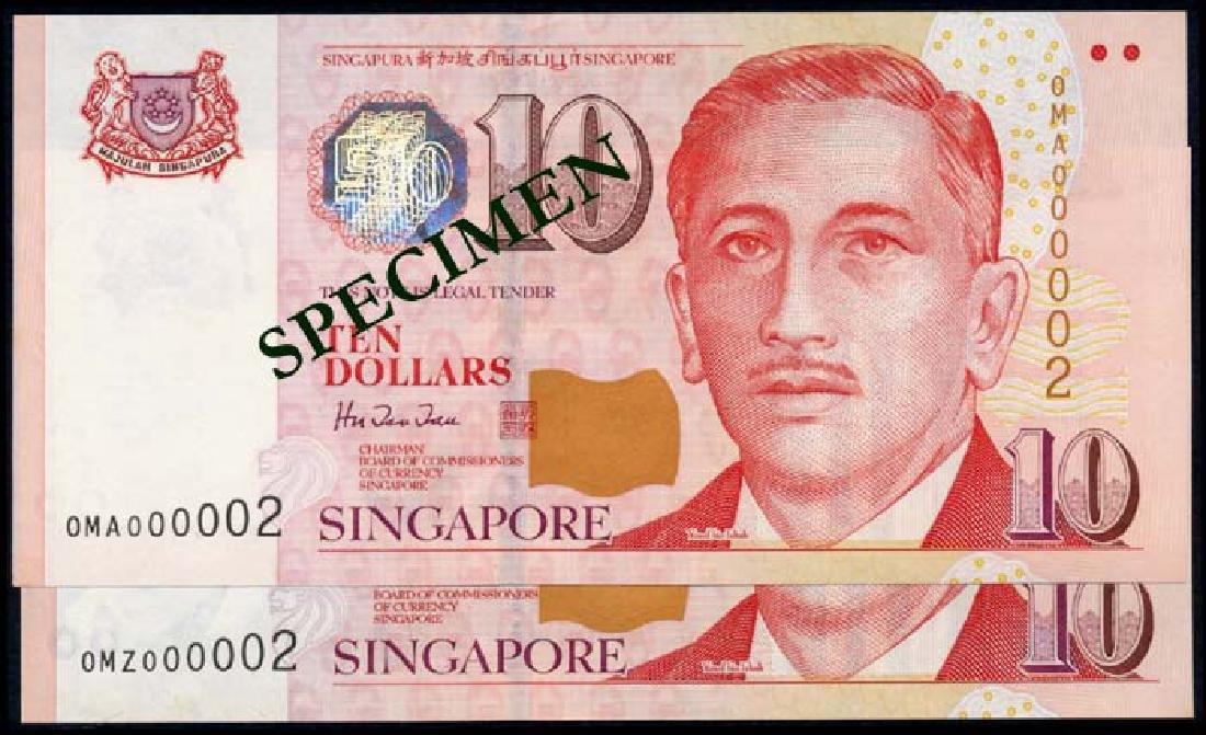 Singapore 24x$10 1999 HTT 0MA-0MZ all 000002