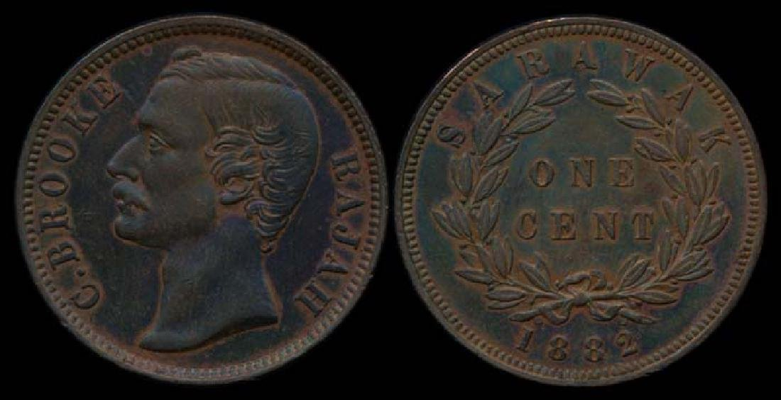 Sarawak C Brooke 1c 1882 AU