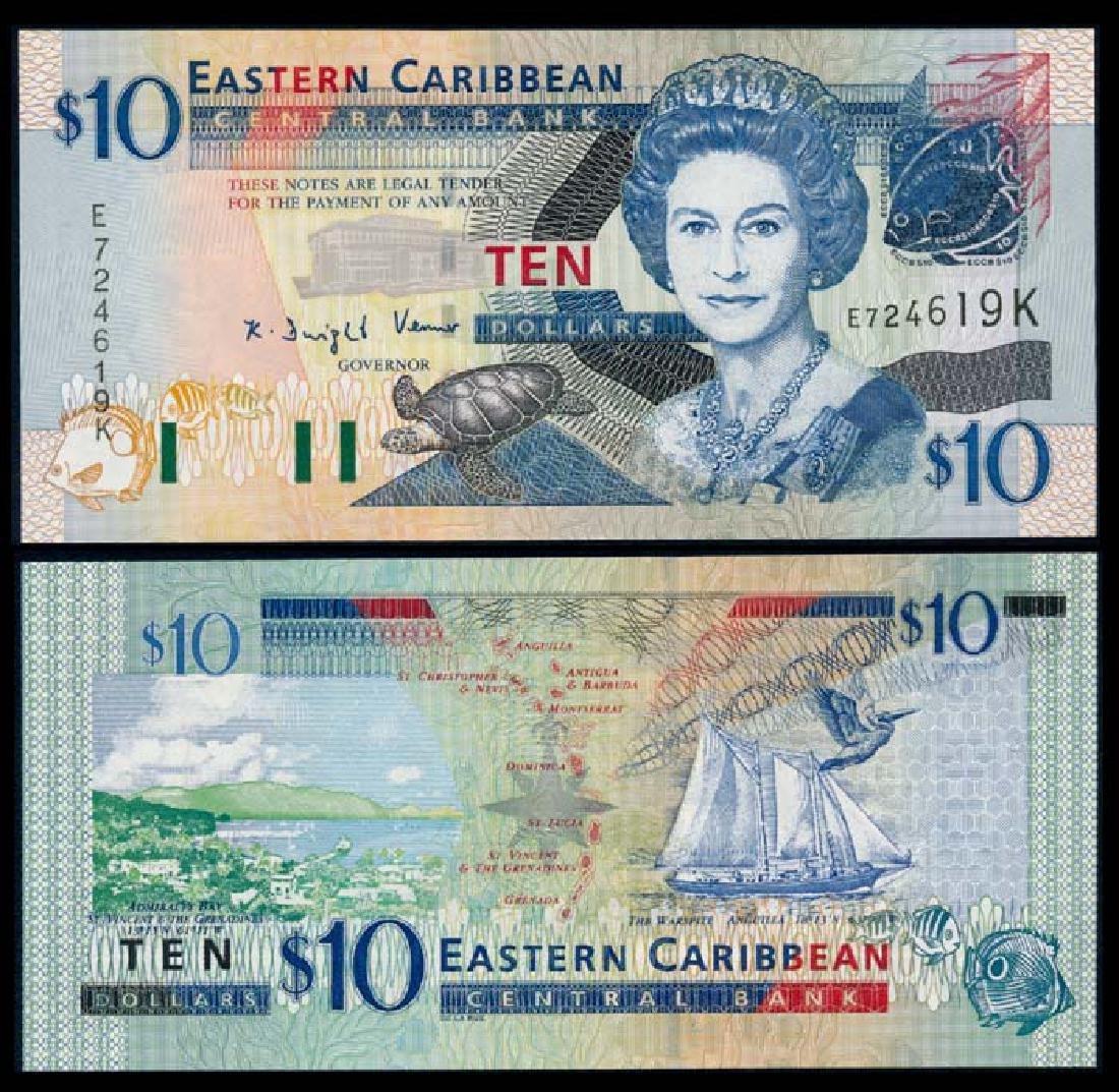 East Caribbean States QEII $10 2003
