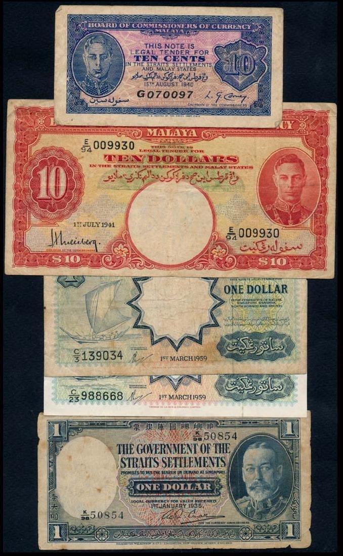 World banknotes of Malaya MBB STS