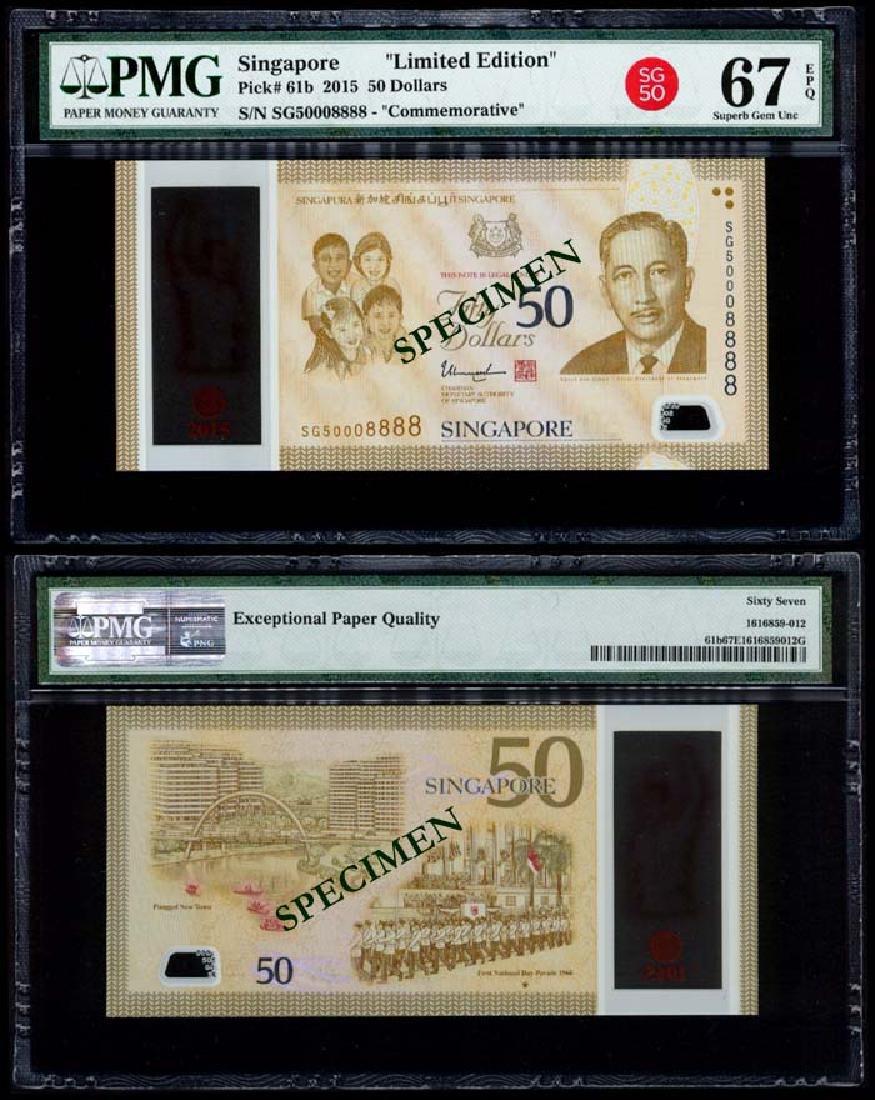 Singapore SG50 $50 SG50 008888 PMG