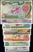 7 Singapore $1-$500 1967-72 all A/1 000004
