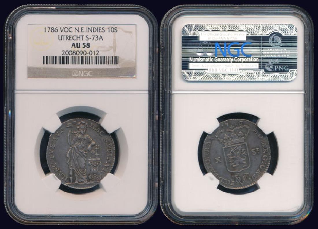 Netherlands East Indies 10 Stuivers 1786