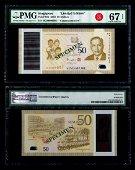 Singapore SG50 $50 SG50 000001 PMG