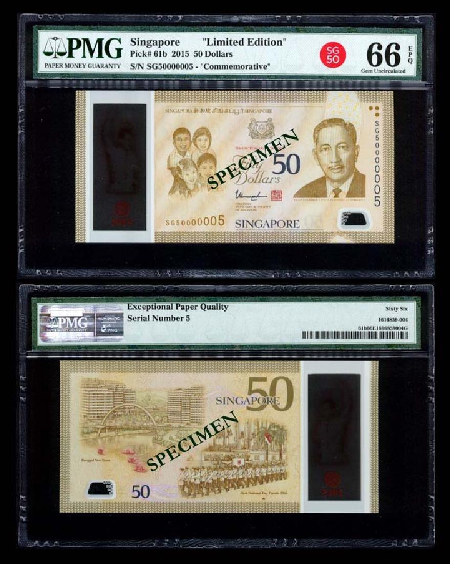 Singapore SG50 $50 SG50 000005 PMG