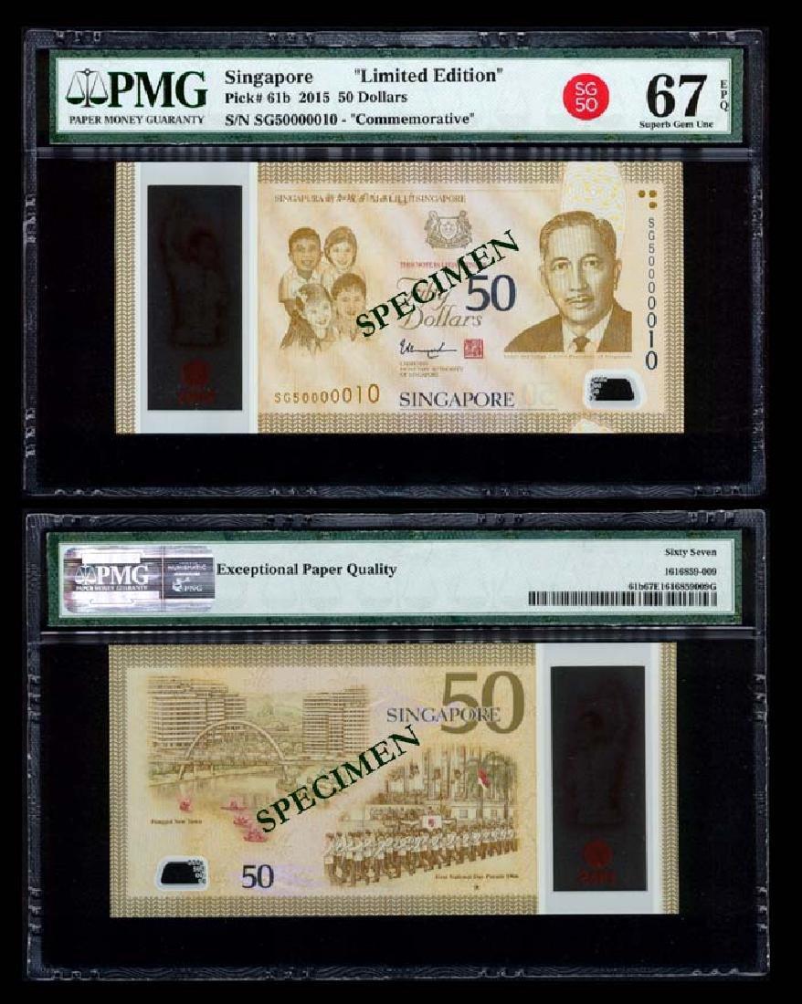 Singapore SG50 $50 SG50 000010 PMG