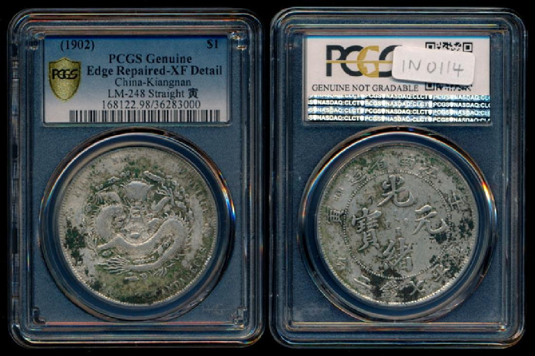 China Empire Kiangnan $1 1902 PCGS