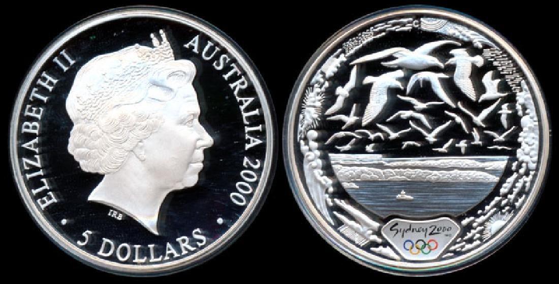 Australia $5 2000 proof