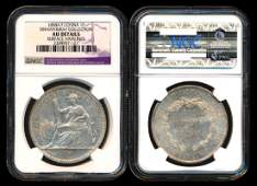 French Indo-China Piastre 1898A NGC