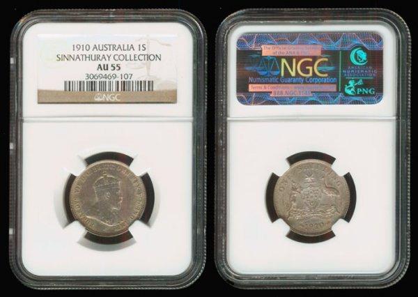 2: Australia KEVII 1S 1910 NGC AU55