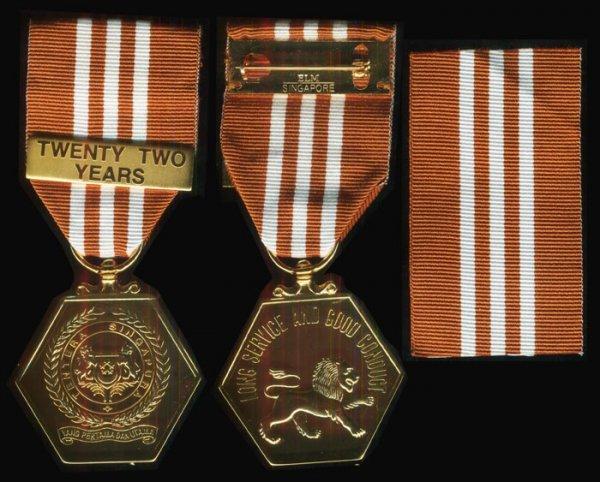 166: Singapore SAF Long Service Medal