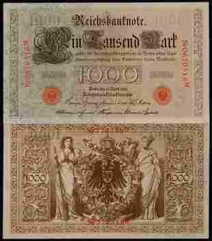 Germany 2x1000 Mark 1910