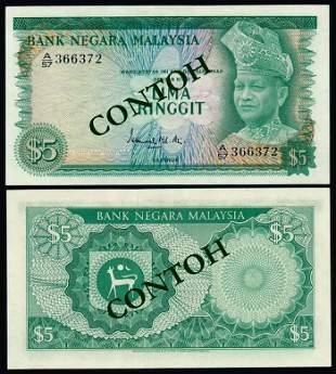 Malaysia $5 1967-72
