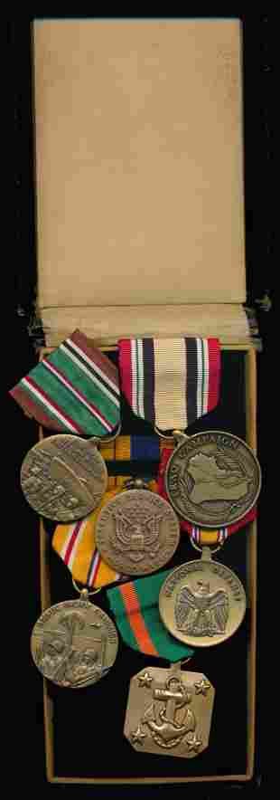 6 United States Military medals