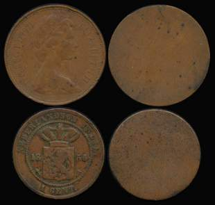 World coins of Great Britain etc