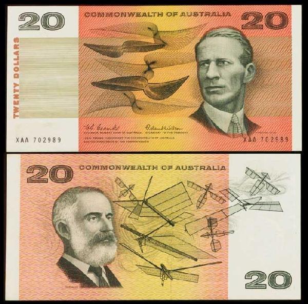 18: Australia $20 1966 P41a AU