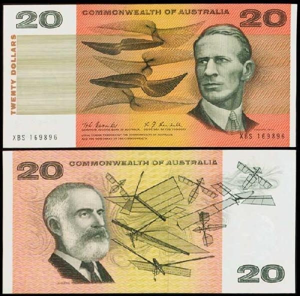 19: Australia $20 1968 P41b AU