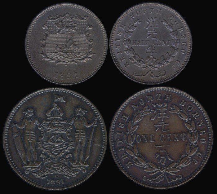 6: Br North Borneo 1/2c 1891H GEF-AU (2)