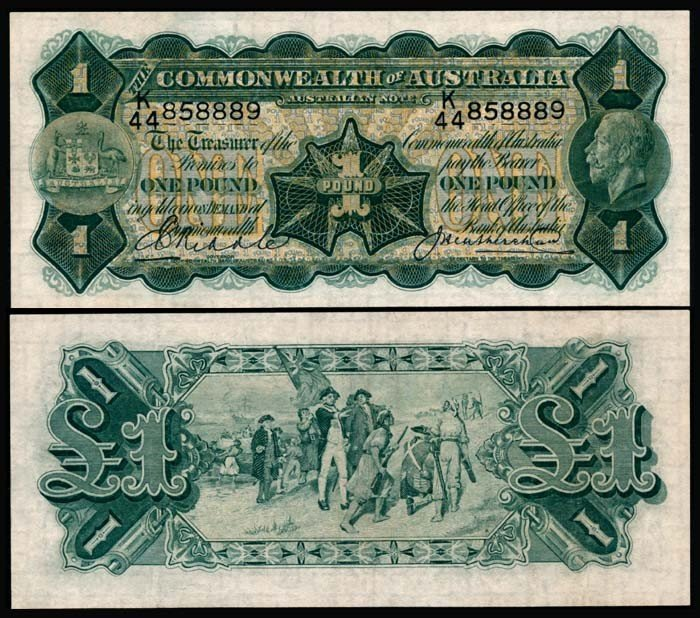 501: Australia 1 Pound 1926-32 KGV AEF