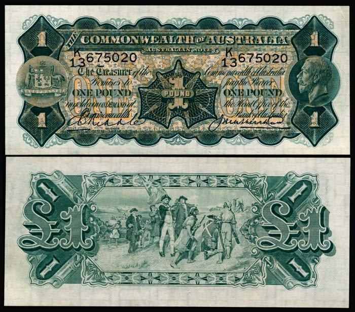 503: Australia 1 Pound 1926-32 KGV AU