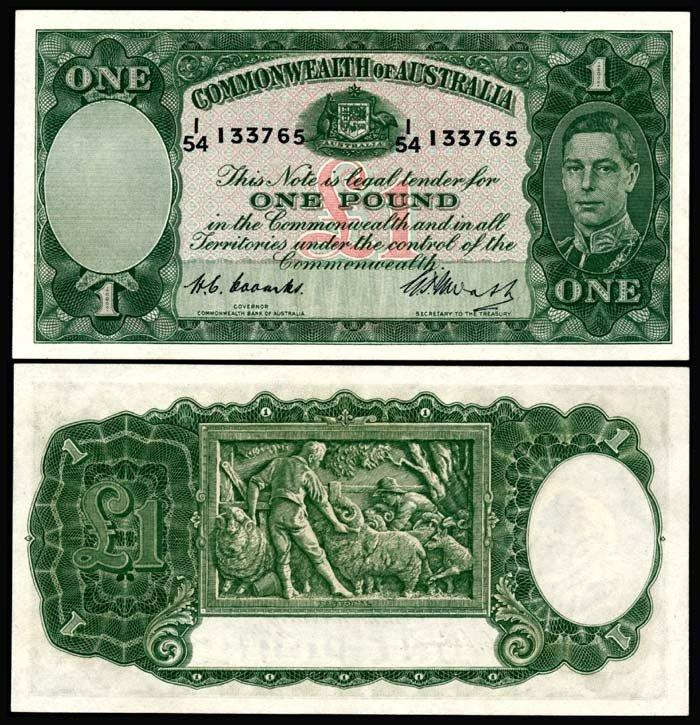 521: Australia 1 Pound 1938-52 KGVI AU