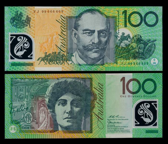 Australia $100 1998-2001 GVF-EF