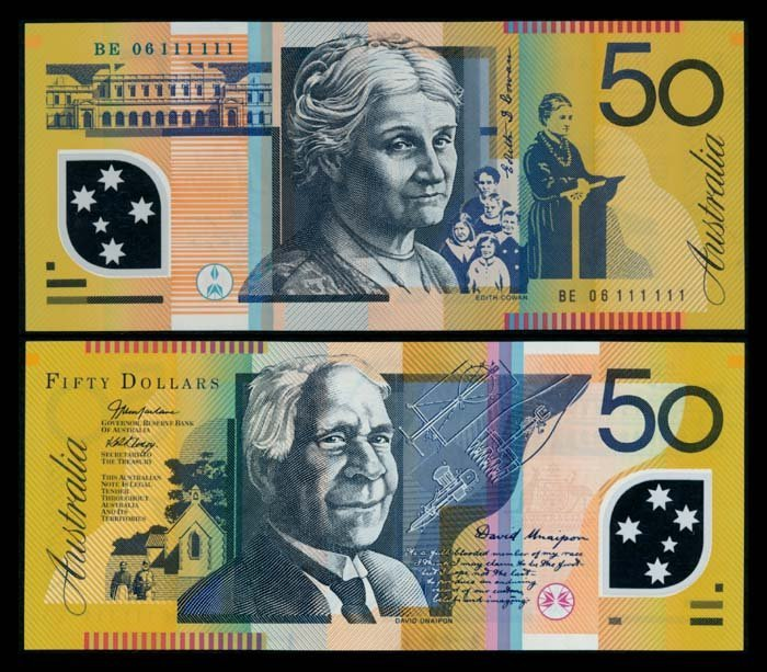 Australia $50 2006 BE 06 111111 AU-UNC
