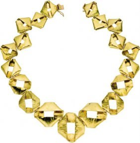 59666: 18k Gold Necklace