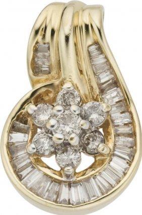 Diamond, Gold Pendant