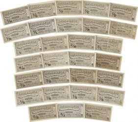 47369: Columbian Expo:Collection of 29 Day Tickets