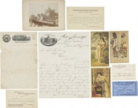 World's Columbian Expo Ticket Correspondence