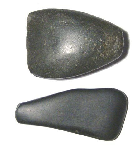 23: A pair of Old Kingdom basalt polishing stones