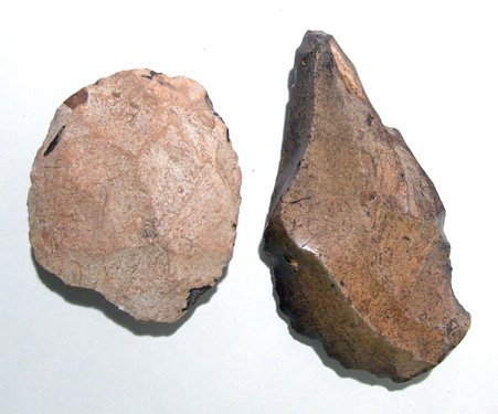 2: Lot of 2 Acheulean Stone Tools