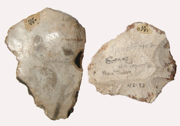5: A Mousterian Hand Axe From Levallois, France, Ex. La